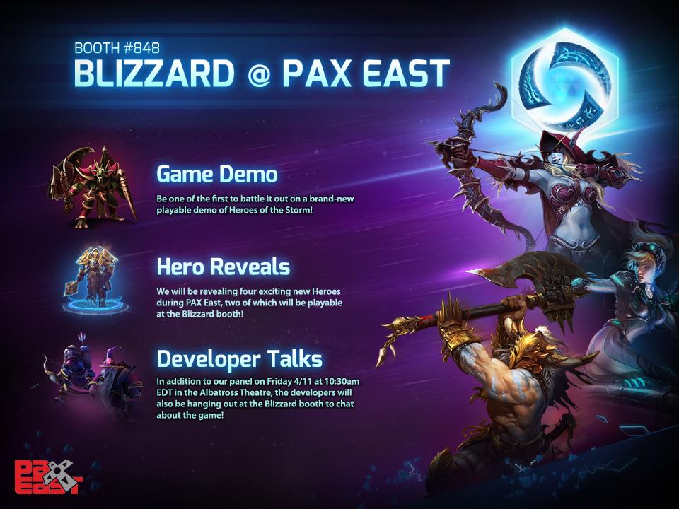 Heroes of the Storm bổ sung thêm 4 tướng mới - Ảnh 1