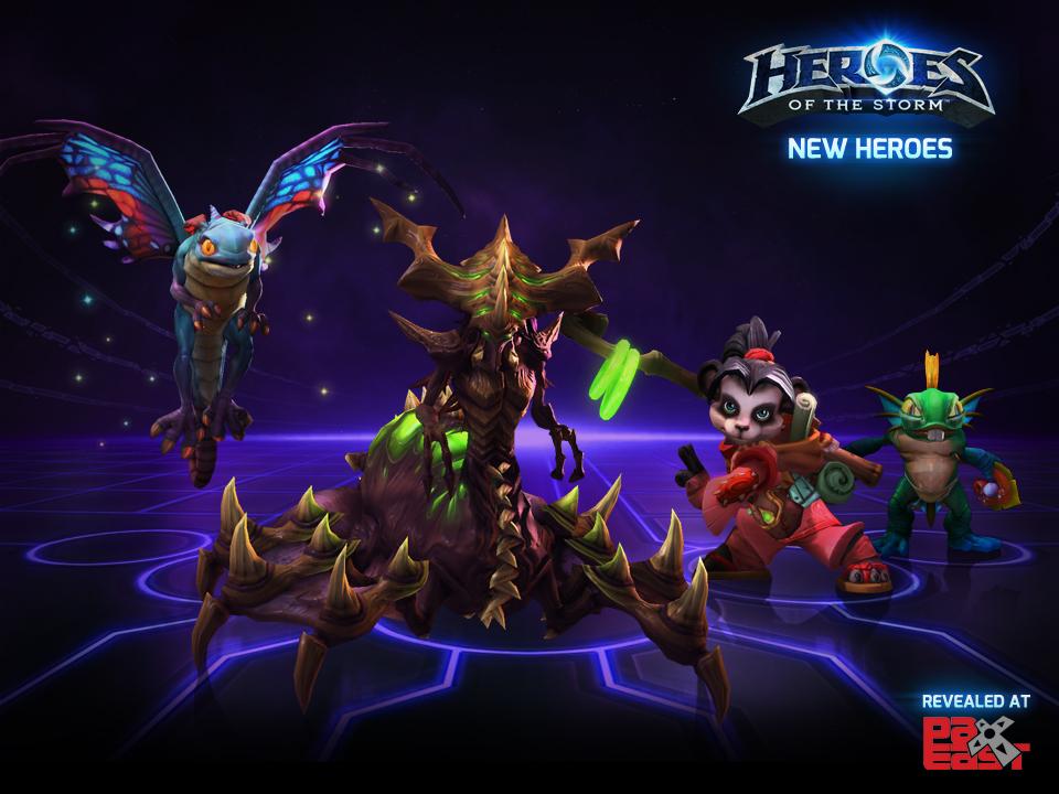 Heroes of the Storm bổ sung thêm 4 tướng mới - Ảnh 2