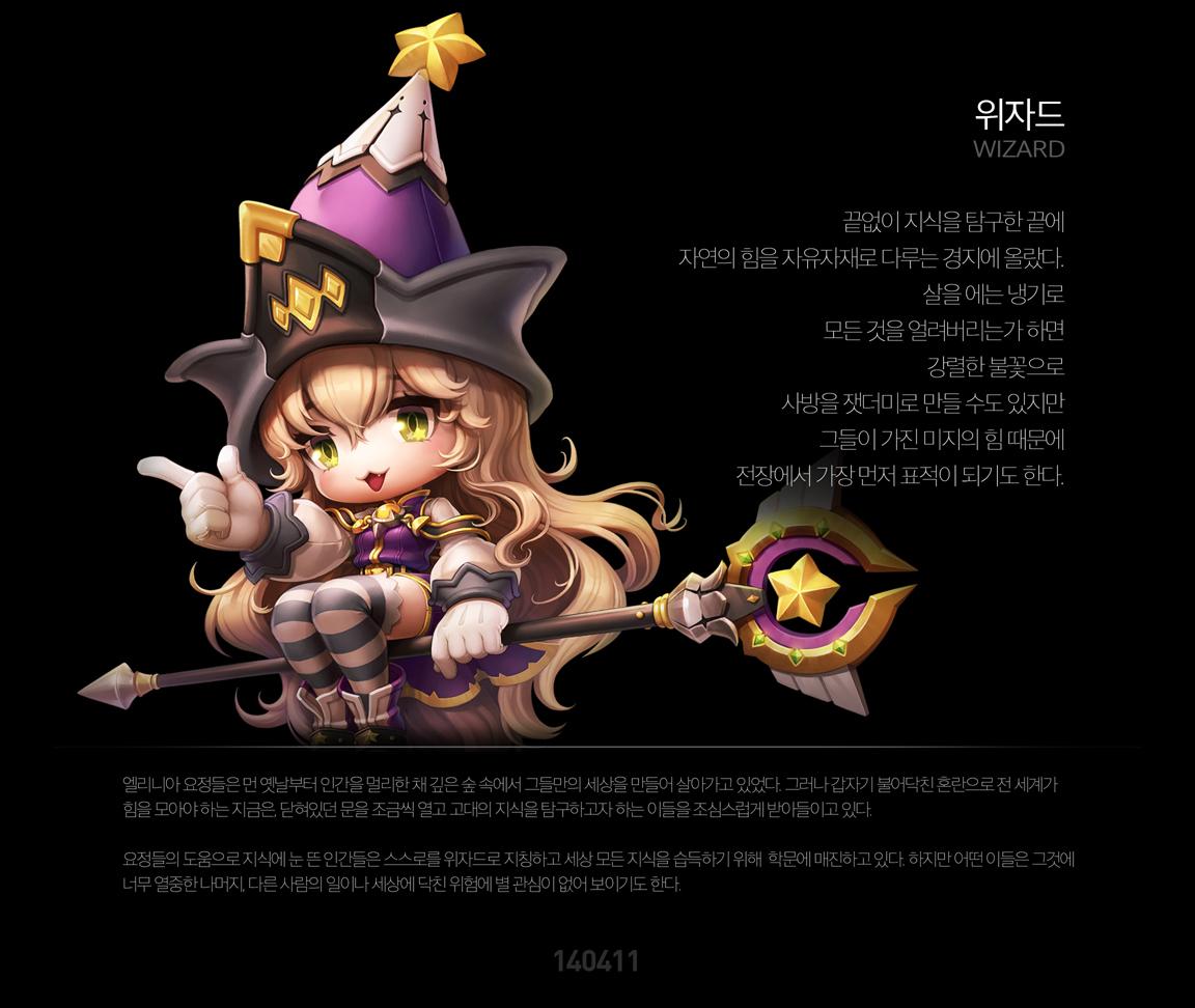 MapleStory 2: Priest và Wizard đã lộ diện