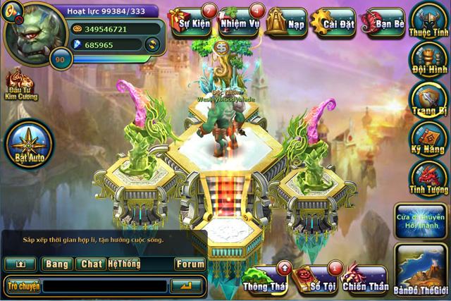 VTC Mobile hé lộ hình ảnh Việt hóa của Cách Tử RPG 3