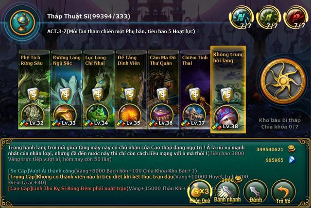 VTC Mobile hé lộ hình ảnh Việt hóa của Cách Tử RPG 9