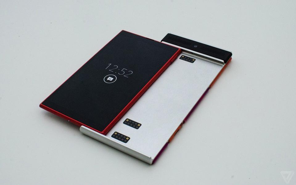 Ảnh thực tế nguyên mẫu điện thoại lắp ghép Project Ara 5