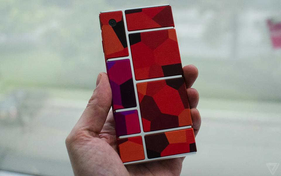 Ảnh thực tế nguyên mẫu điện thoại lắp ghép Project Ara 8