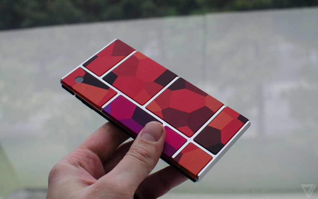 Ảnh thực tế nguyên mẫu điện thoại lắp ghép Project Ara 11