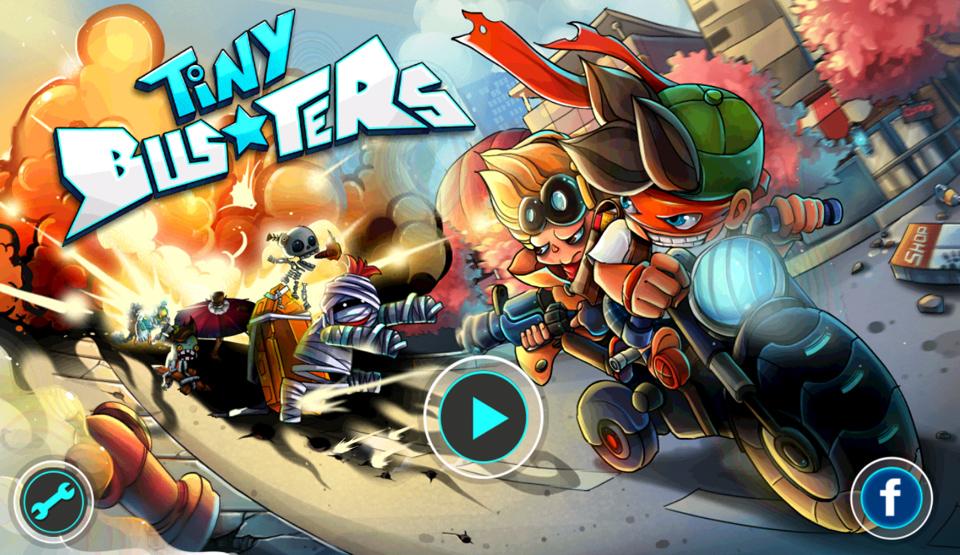 Divmob phát hành game mới Tiny Busters 1