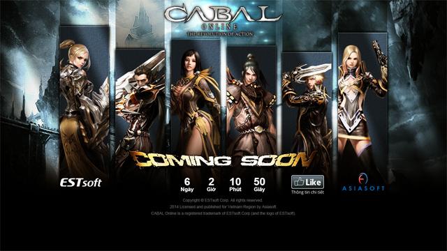 "Cabal được ""hồi sinh"" bởi Asiasoft Việt Nam 1"