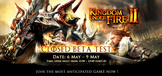Kingdom Under Fire II mở cửa CBT từ 06/05 2