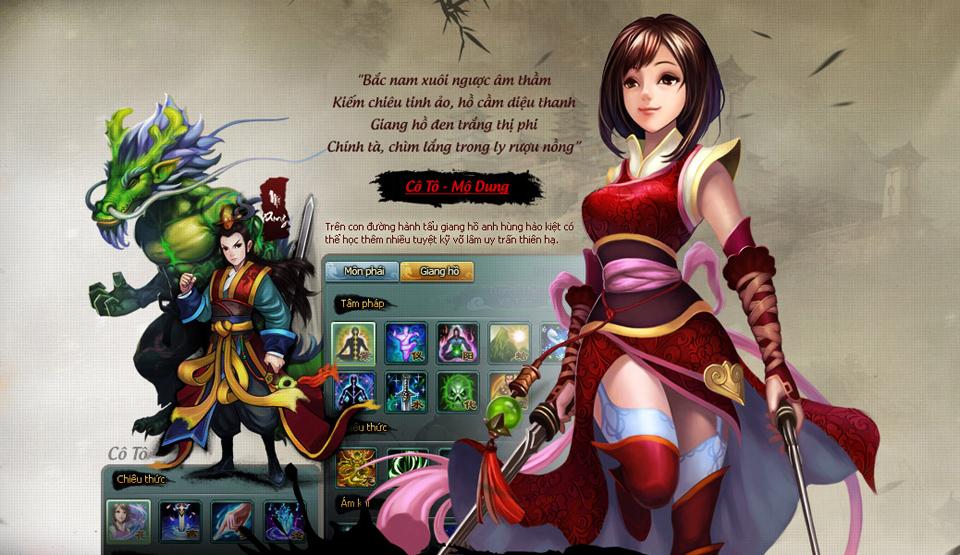 HIG hé lộ về game mới Túy Thiên Long 2
