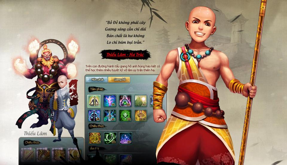 HIG hé lộ về game mới Túy Thiên Long 3