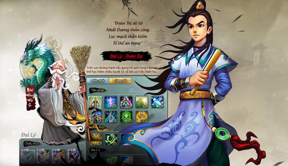 HIG hé lộ về game mới Túy Thiên Long 4