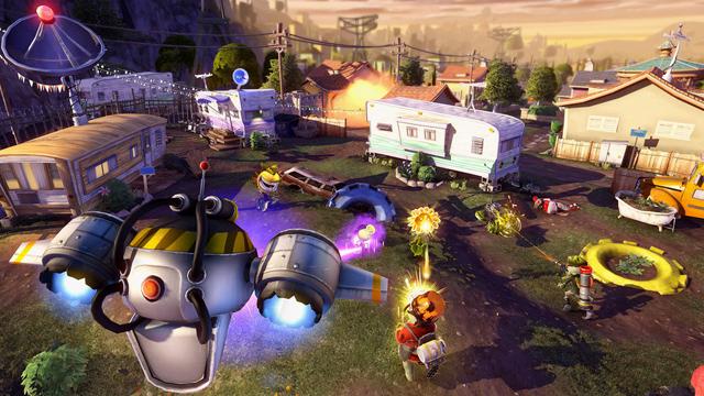 Plants vs Zombies: Garden Warfare có mặt trên PC 2