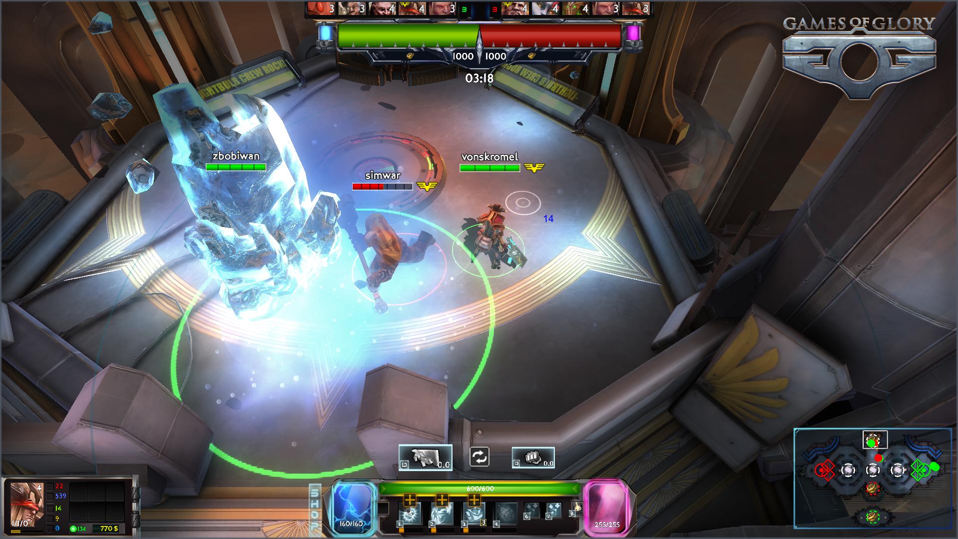 Cận cảnh về MOBA Games of Glory - Ảnh 3