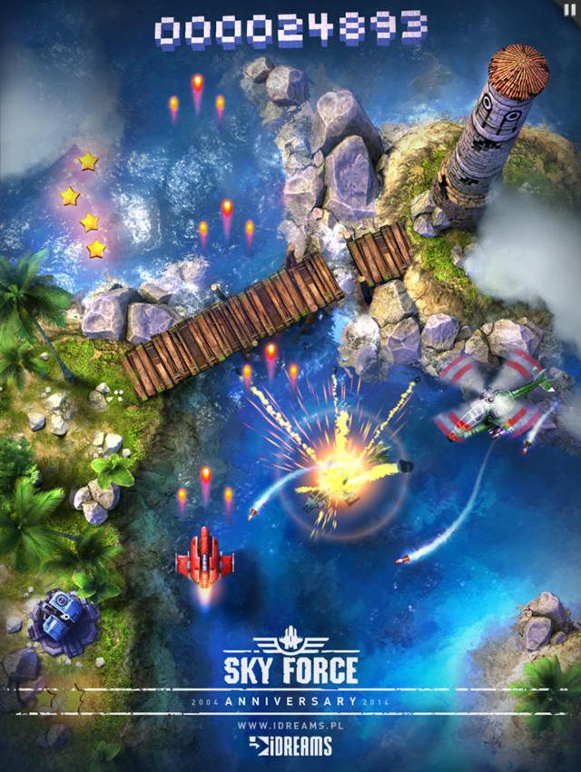 Infinite Dreams thử nghiệm Sky Force 2014 6