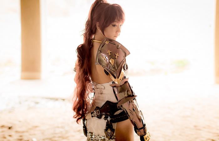 CSL Pion gợi cảm với cosplay Knight trong Bless - Ảnh 4