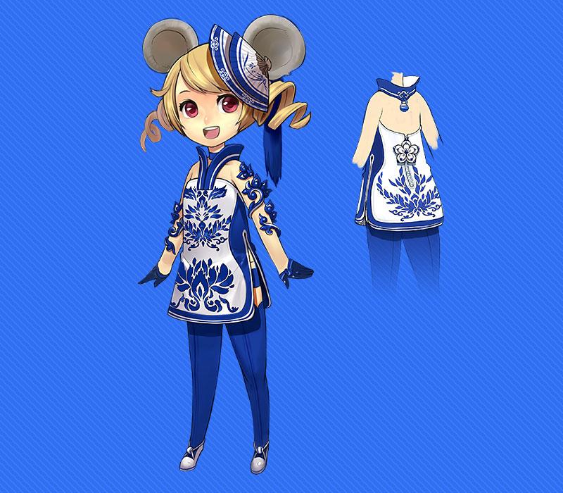 Ngắm trang phục Thanh Hoa Từ trong Blade & Soul - Ảnh 3