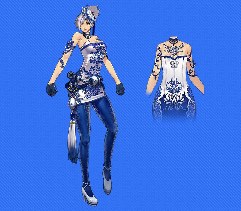 Ngắm trang phục Thanh Hoa Từ trong Blade & Soul - Ảnh 4