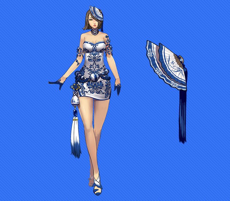 Ngắm trang phục Thanh Hoa Từ trong Blade & Soul - Ảnh 7