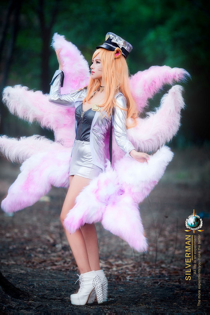 Mitu Kat cực xinh với cosplay Ahri Thần Tượng Âm Nhạc - Ảnh 12