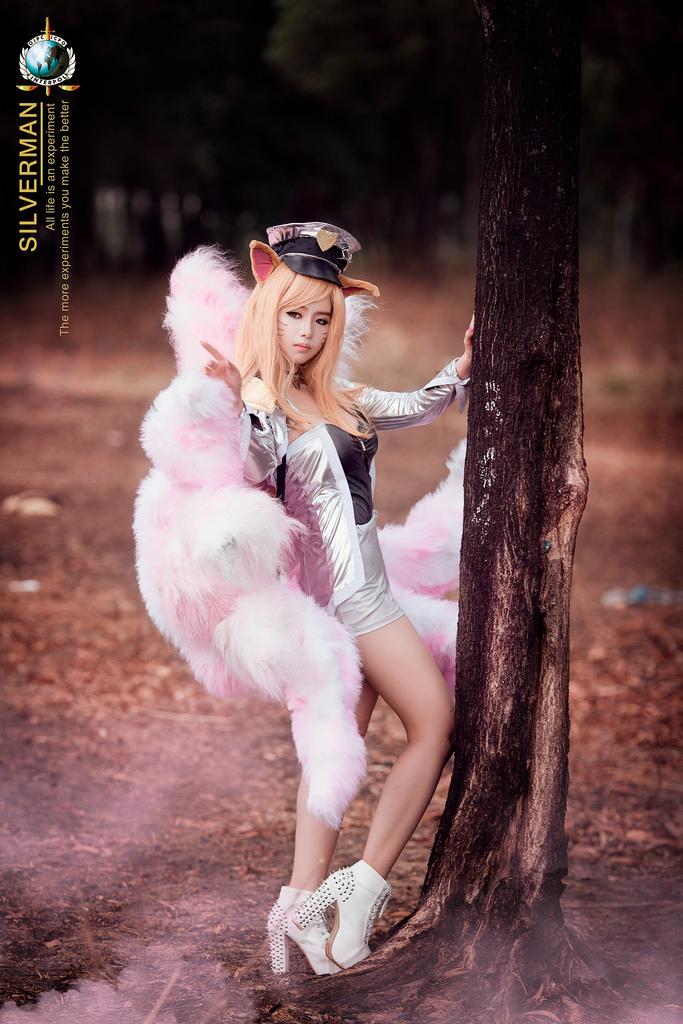 Mitu Kat cực xinh với cosplay Ahri Thần Tượng Âm Nhạc - Ảnh 13