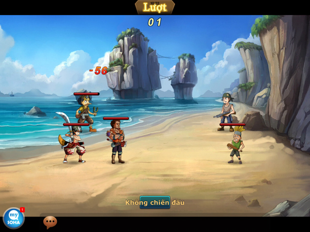 Soha Game hé lộ về game mới Hải Tặc Soha 3