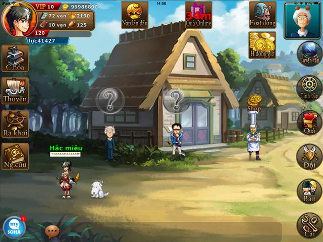 Soha Game hé lộ về game mới Hải Tặc Soha 4