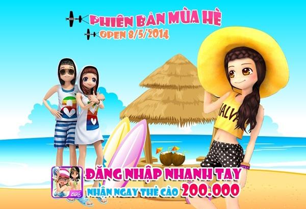 Au Mobile trình làng phiên bản mới đón mùa hè 1
