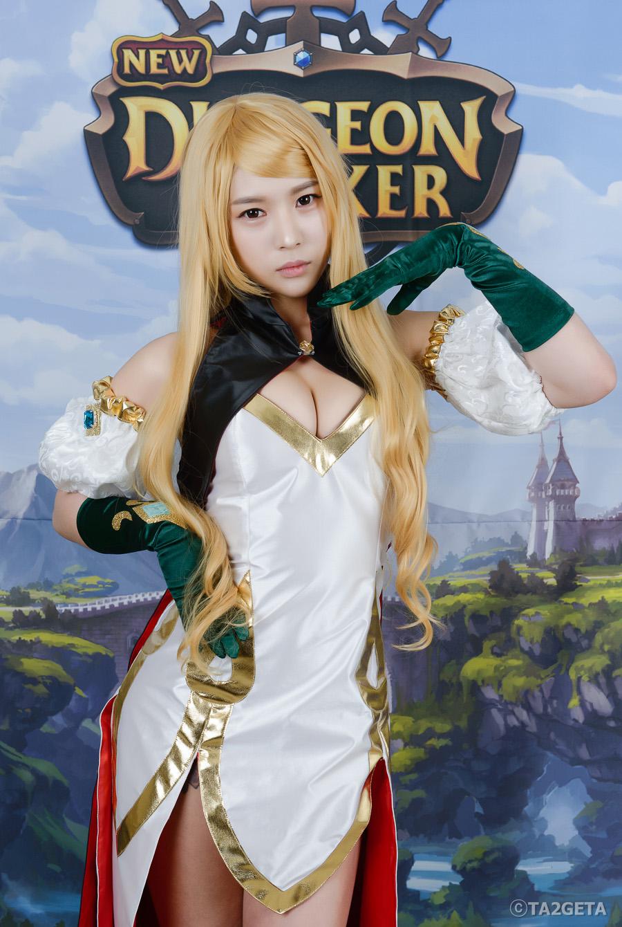 Chảy máu mũi với cosplay New Dungeon Striker - Ảnh 4