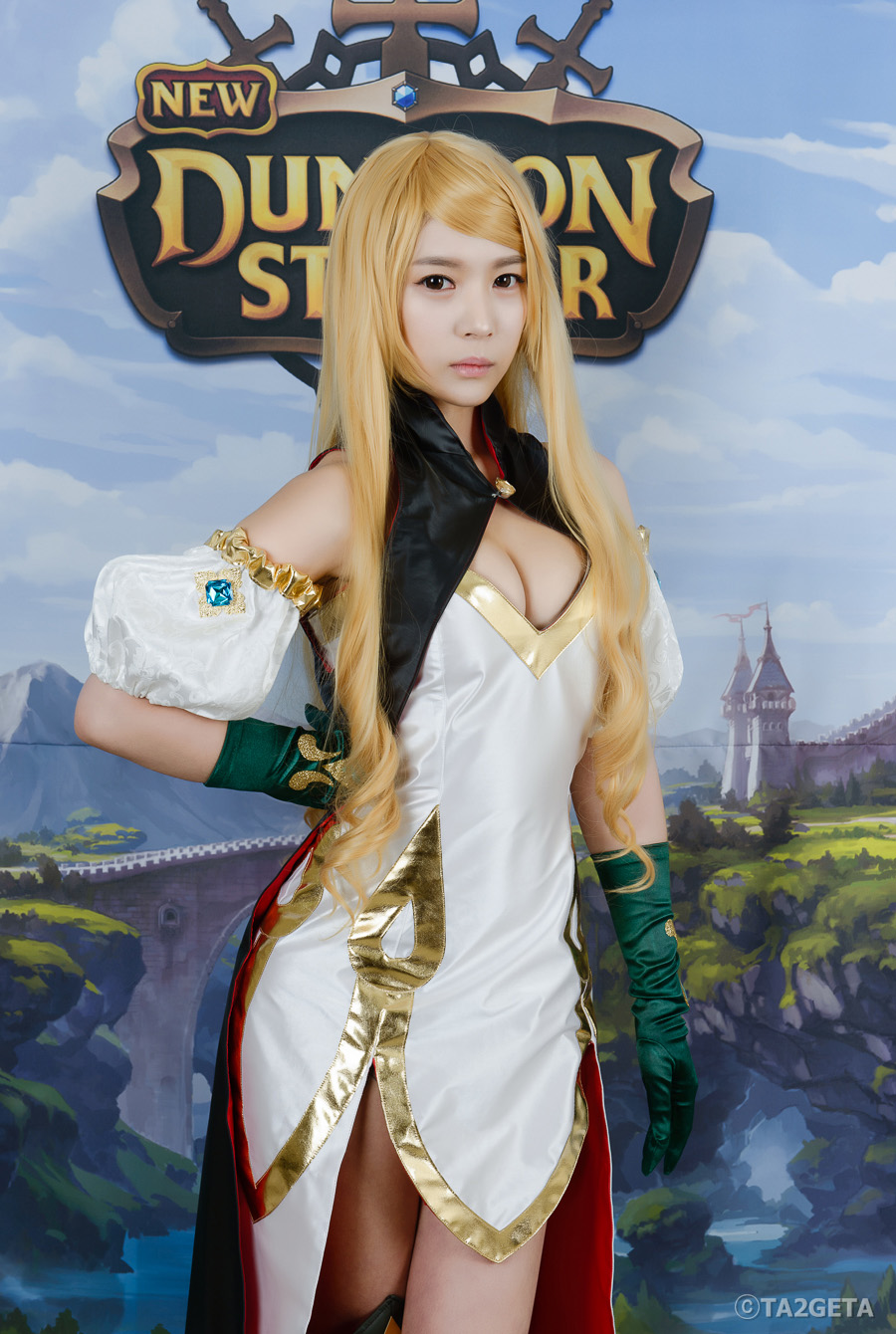 Chảy máu mũi với cosplay New Dungeon Striker - Ảnh 6