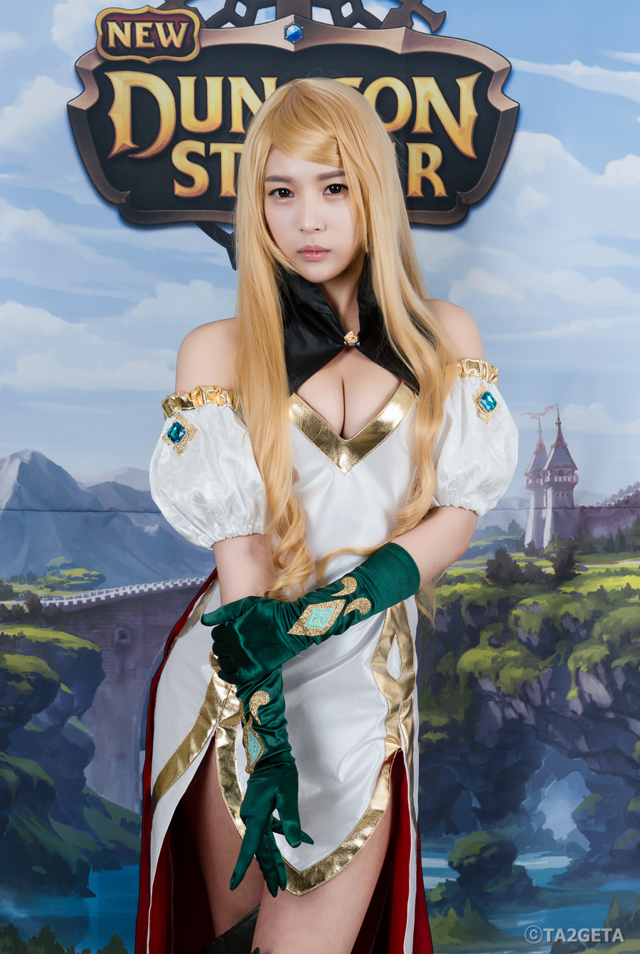 Chảy máu mũi với cosplay New Dungeon Striker - Ảnh 8