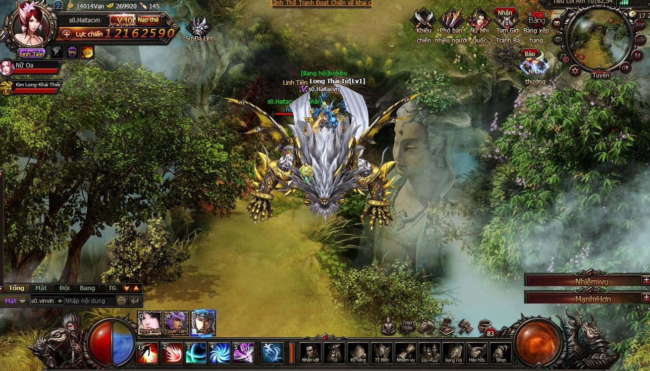 TTV Online hé lộ webgame mới Đại Náo Thiên Cung 10
