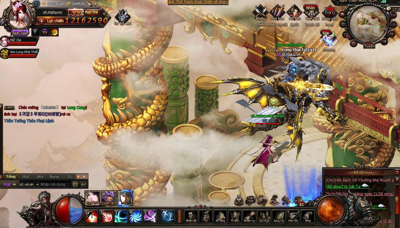 TTV Online hé lộ webgame mới Đại Náo Thiên Cung 11
