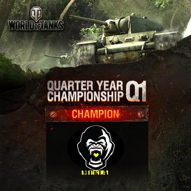 WOT: Mukla vô địch Quarter Year Championship Q1 1