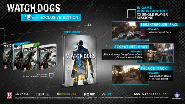 Watch Dogs có tới 9 phiên bản đặc biệt khác nhau 4