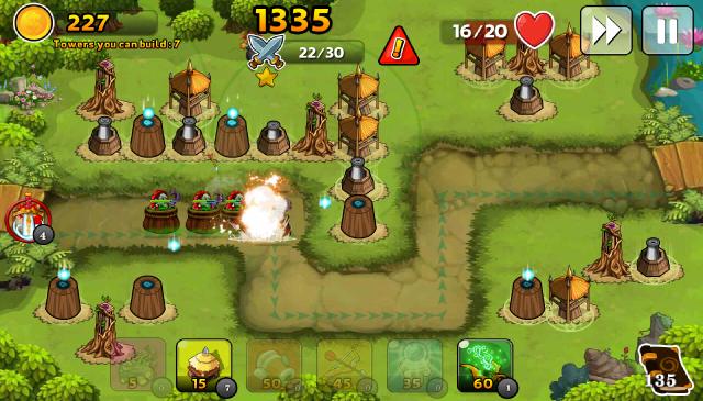 Đánh giá game thủ thành Kingdom Defense 3