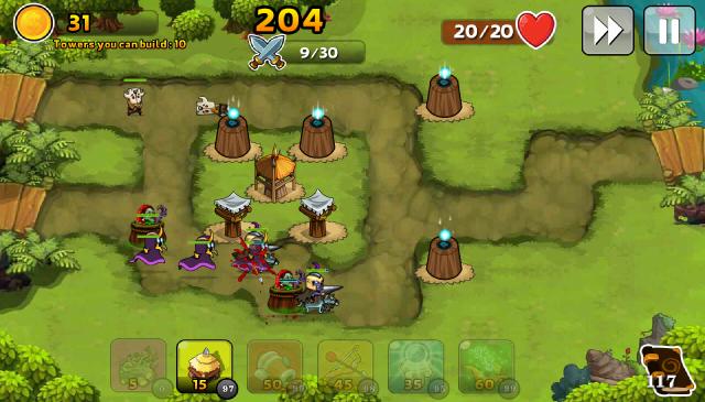 Đánh giá game thủ thành Kingdom Defense 5