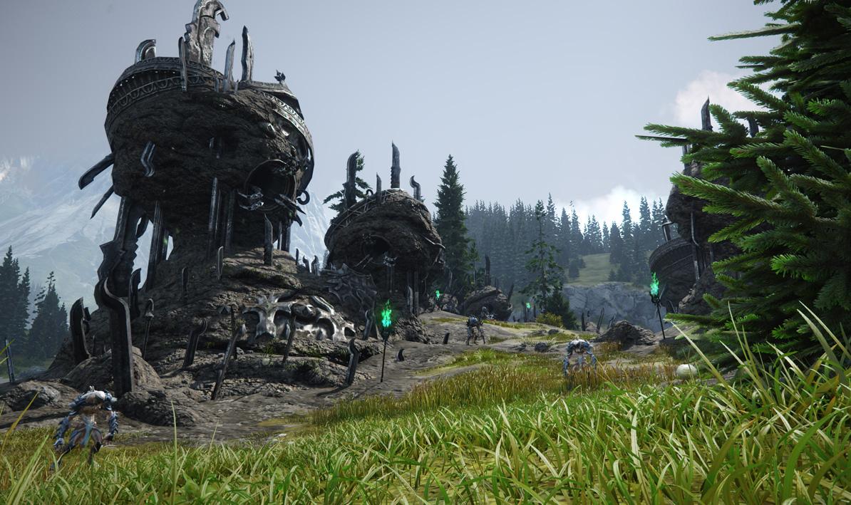 Chiêm ngưỡng phong cảnh đảo Dankit trong Skyforge - Ảnh 5