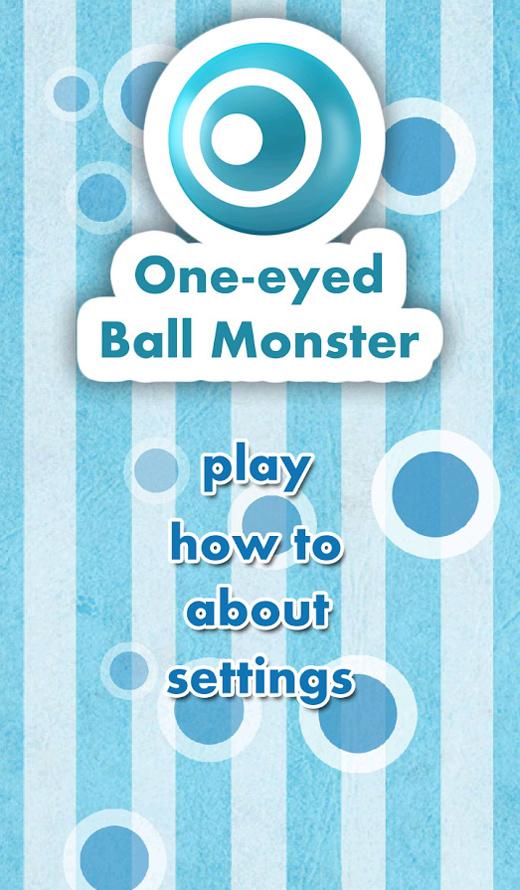 One-eyed Ball Monster có mặt trên Google Play 2