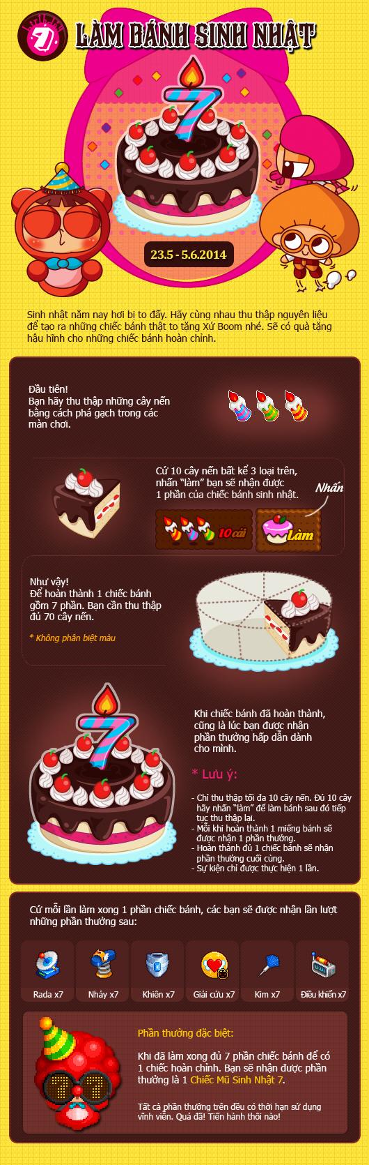 Boom Online tưng bừng sự kiện đón sinh nhật thứ 7 3