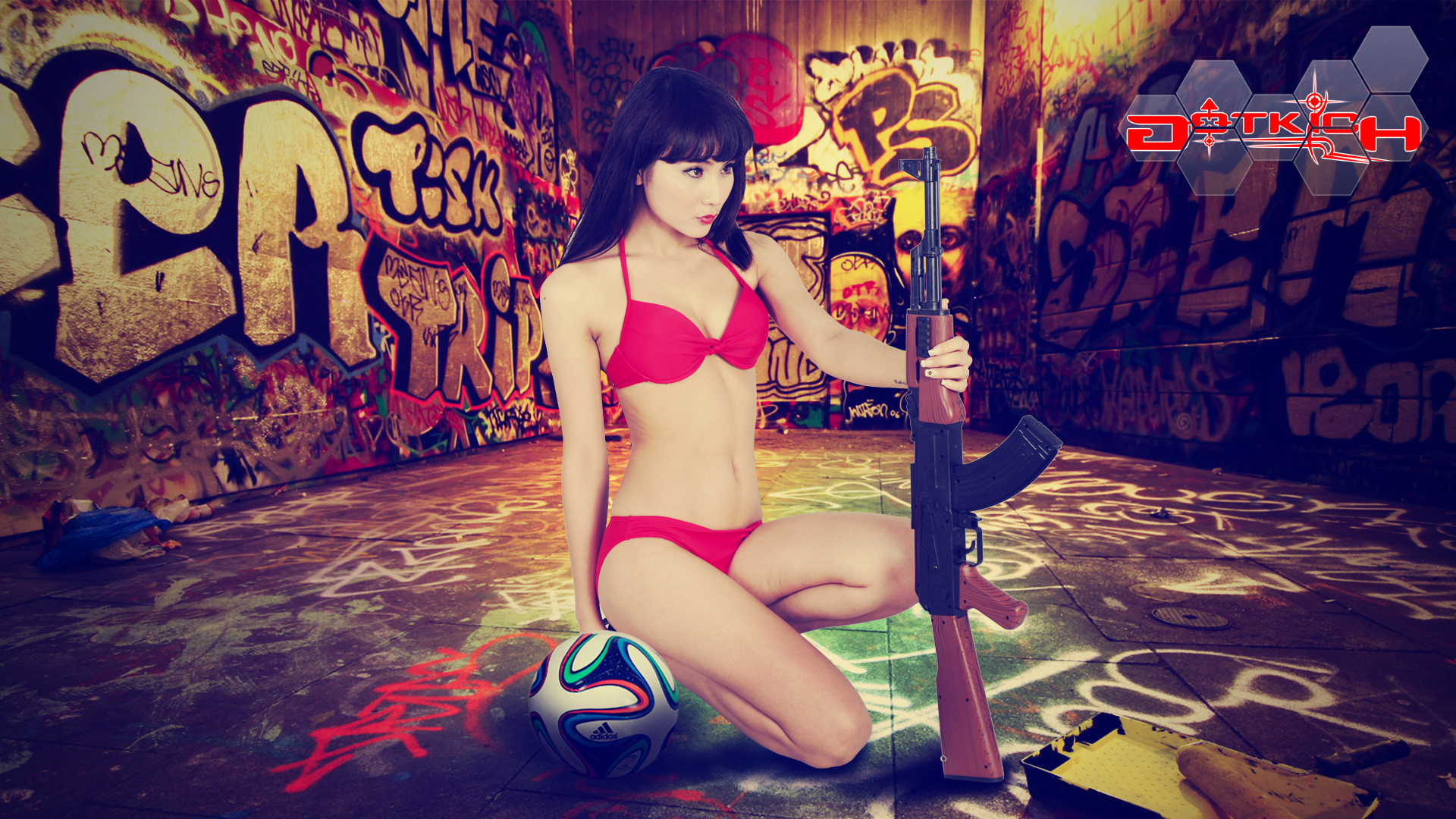"""Hot girl Đột Kích """"khoe ngực"""" đón World Cup 2014 - Ảnh 9"""
