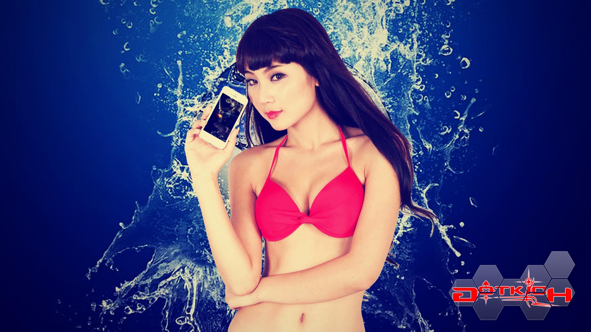 """Hot girl Đột Kích """"khoe ngực"""" đón World Cup 2014 - Ảnh 13"""