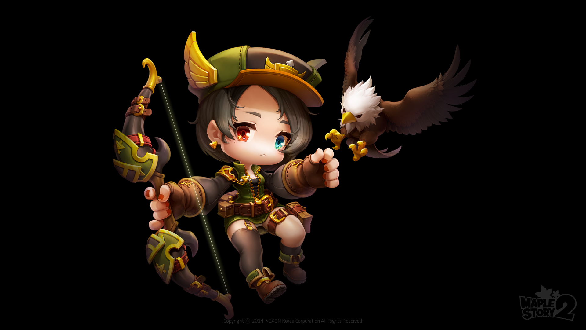 MapleStory 2: Ranger lộ diện
