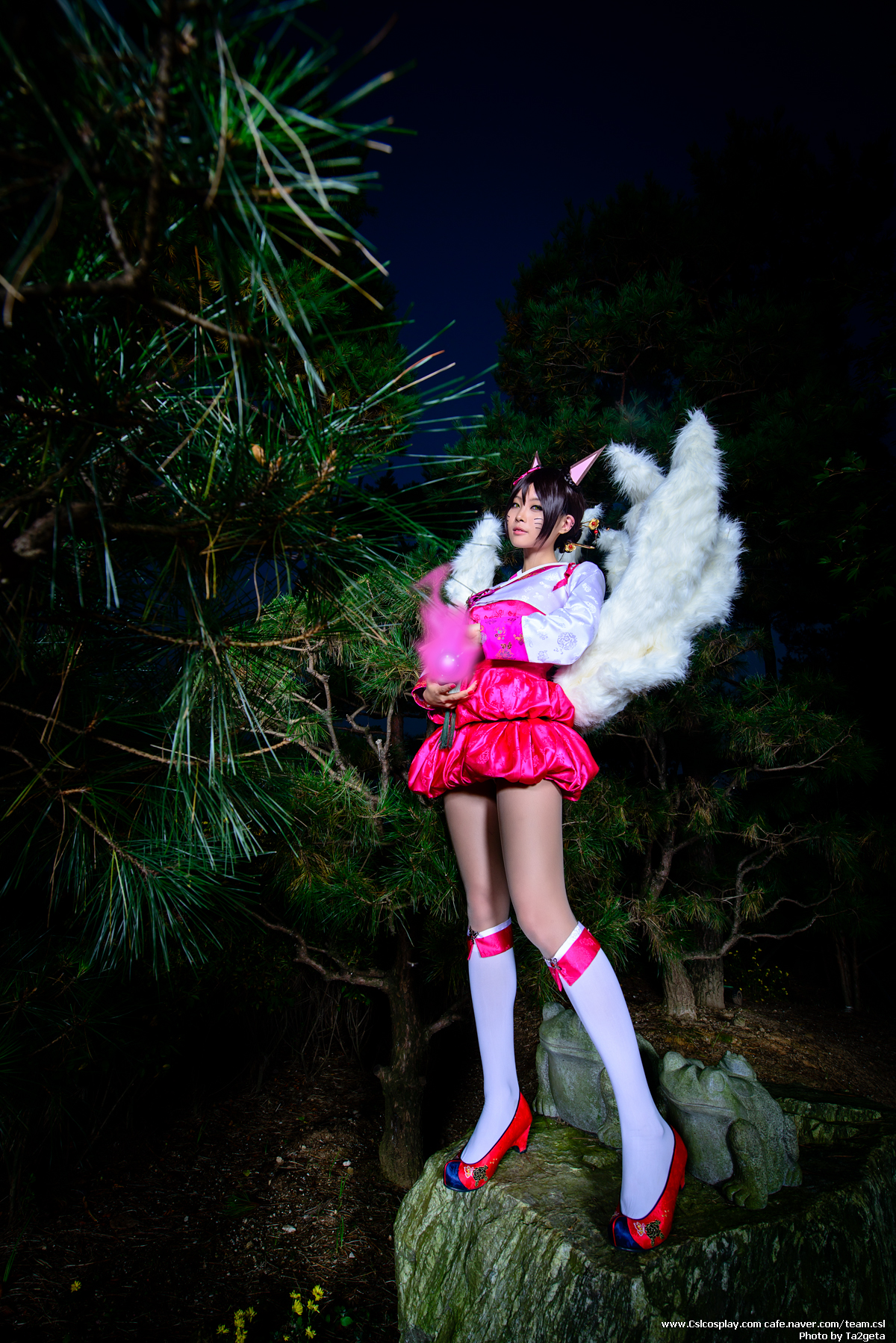 Ngắm cosplay Ahri Hàn Triều cực quyến rũ - Ảnh 3