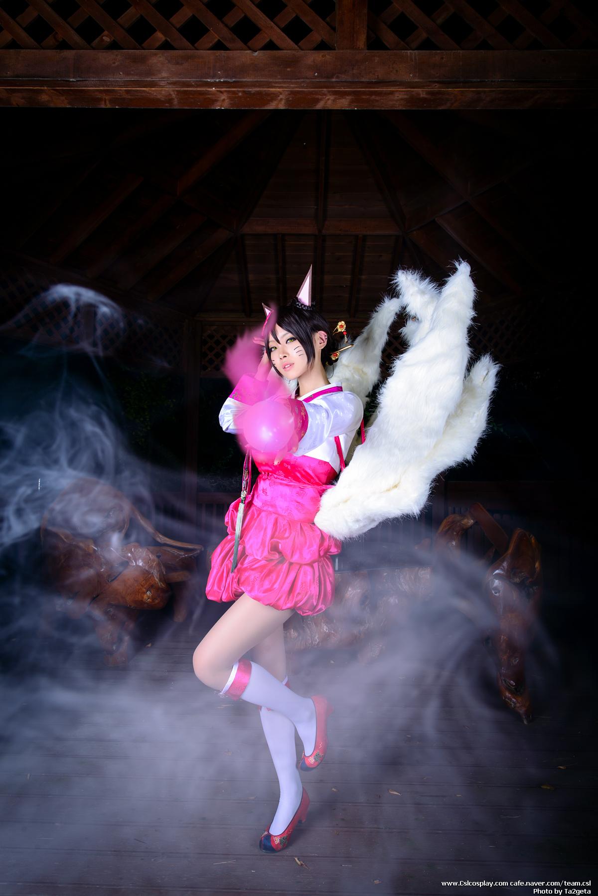 Ngắm cosplay Ahri Hàn Triều cực quyến rũ - Ảnh 4