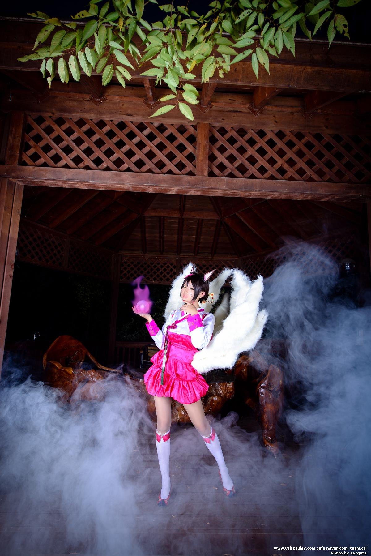 Ngắm cosplay Ahri Hàn Triều cực quyến rũ - Ảnh 5