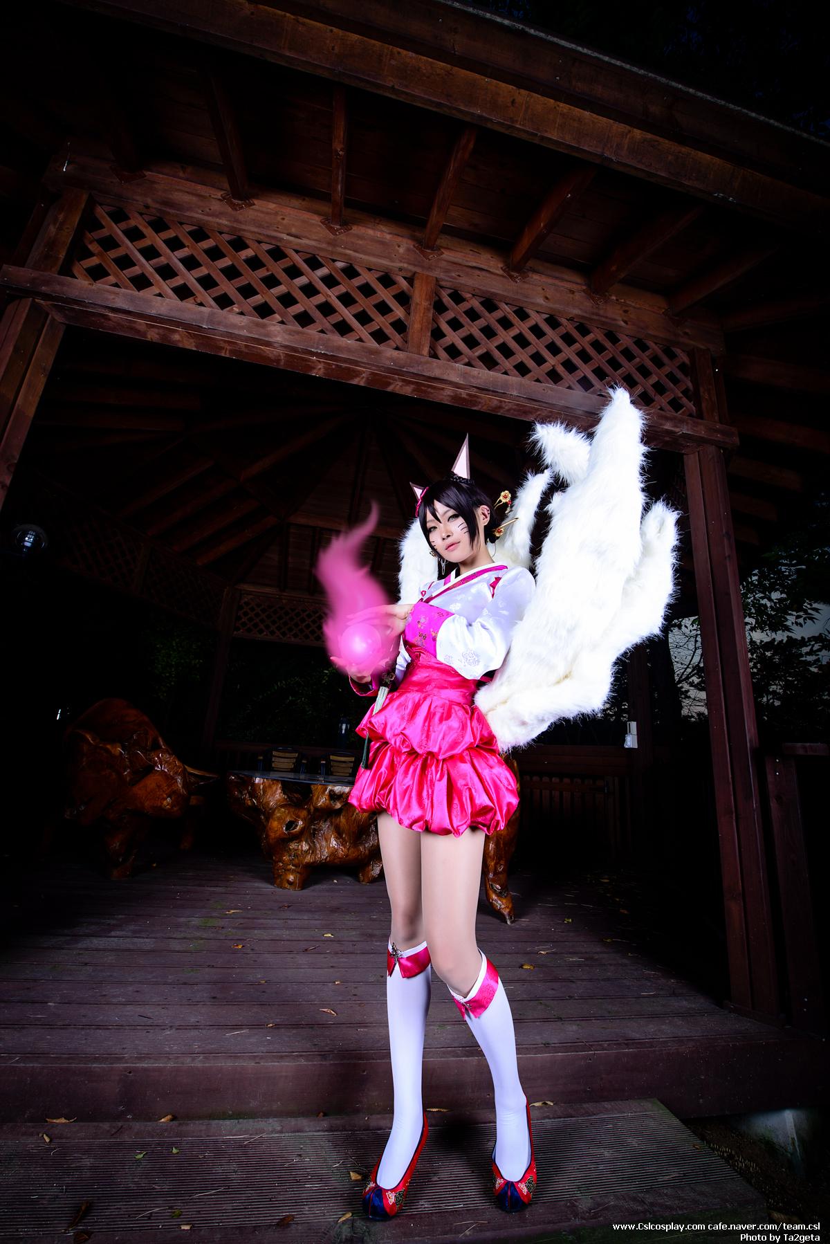 Ngắm cosplay Ahri Hàn Triều cực quyến rũ - Ảnh 7