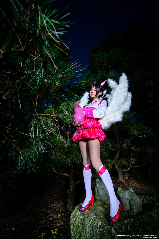 LMHT: Ngắm cosplay Ahri Hàn Triều cực quyến rũ 4