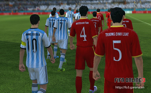 Việt Nam tham gia World Cup 2014 trong FIFA Online 3 4