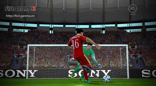 Việt Nam tham gia World Cup 2014 trong FIFA Online 3 6