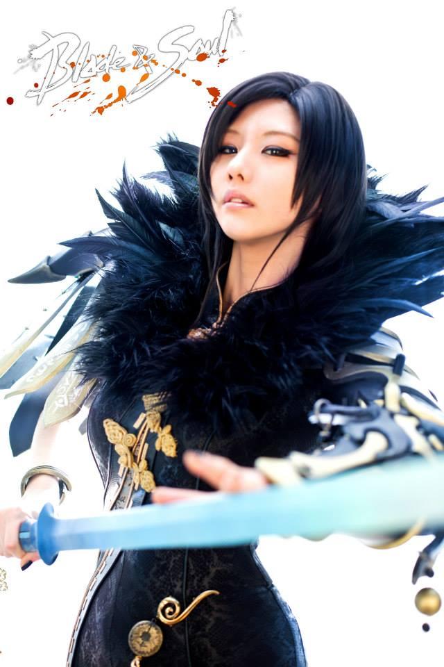 Tasha cực gợi cảm với cosplay Blade & Soul 1