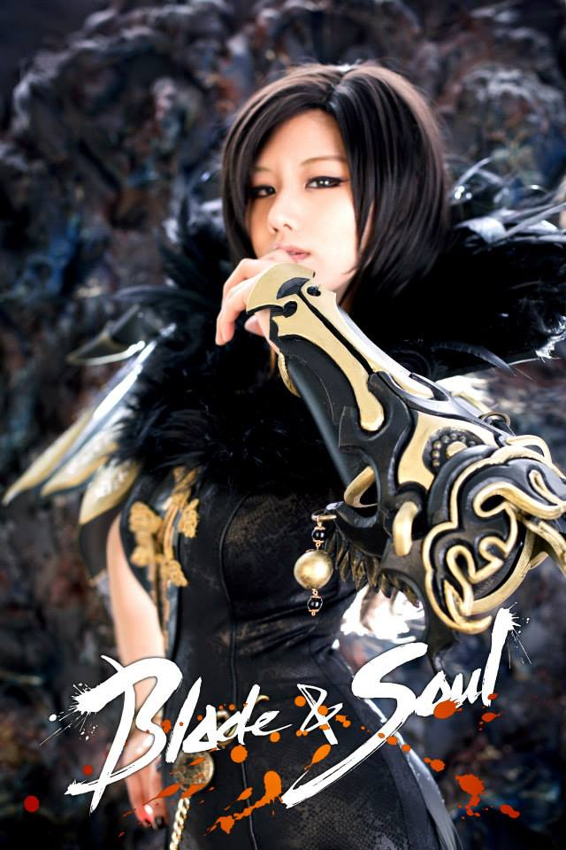 Tasha cực gợi cảm với cosplay Blade & Soul 9